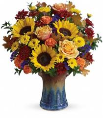 Photo of Teleflora's Blaze Of Beauty Bouquet - T14T210
