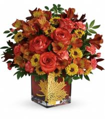 Photo of Teleflora's Harvest Cheer Bouquet - T14T305