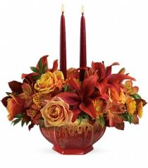 Photo of Teleflora's Tuscan Autumn Centerpiece - T14T100