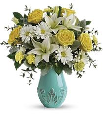 Photo of Hello Spring in Vase E100 Includes Standard Delivery - T16E100