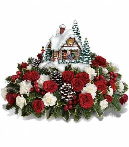 Photo of Thomas Kinkade A Kiss For Santa by Teleflora - T14X200