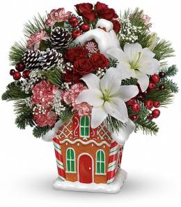 Photo of Candy Cottage Bouquet Teleflora - T14X305