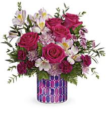 Photo of Brilliant Butterflies Bouquet by Teleflora - T17S100