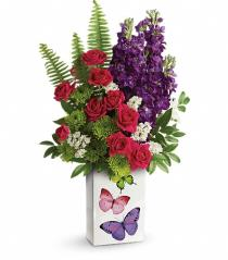 Photo of Flight Of Fancy Bouquet by Teleflora - T17S105