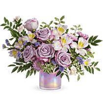 Photo of Delightful Dots Bouquet with Vase - T16E305
