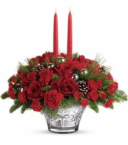 Photo of Merry Memories Centerpiece Teleflora - T15X105
