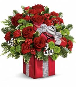 Photo of Gift Wrapped Bouquet by Teleflora - T16X400