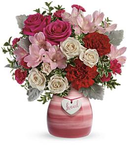 Photo of Always Loved Vase Bouquet V305 - T17V305