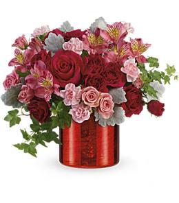 Photo of Swirling Heart Bouquet V400 - T17V400