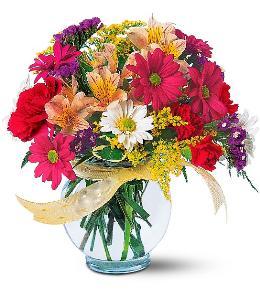 Photo of Joyful and Thrilling Flowers Vased  - TF121-2