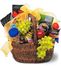 Photo of Gourmet Picnic Gift Basket - TF157-1