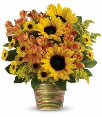 Photo of Teleflora's Grand Sunshine Bouquet - T14G100