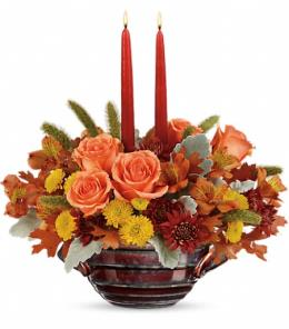 Photo of Celebrate Fall Centerpiece  - T16T110