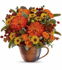 Photo of Autumn Sunrise Bouquet - T16T200