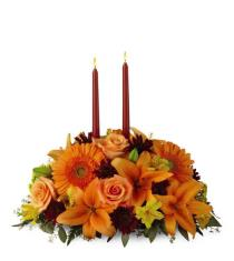 Photo of Bright Autumn Centerpiece by FTD - B7-4112