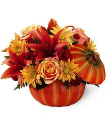 Photo of Bountiful Pumpkin Bouquet by FTD - 12-F2