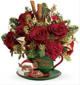 Photo of Send a Hug Night before Christmas Teleflora T12X500 - T12X500