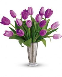 Photo of Tantalizing Tulips Bouquet by Teleflora - TEV23-8