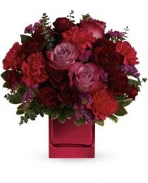 Photo of Teleflora's Ruby Rapture Bouquet - TEV23-1