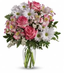 Photo of What a Treat with Vase by Teleflora - TEV12-2