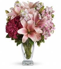 Photo of Teleflora's Blush Of Love Bouquet - TEV21-1