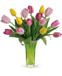 Photo of Teleflora's Simply Sublime Tulip Bouquet - T13E100