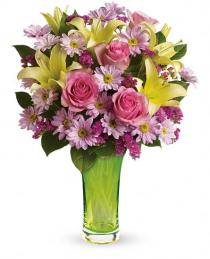 Photo of Teleflora's Bring On Spring Bouquet - T13E110