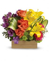 Photo of Teleflora's Shades Of Brilliance Bouquet - TEV32-3