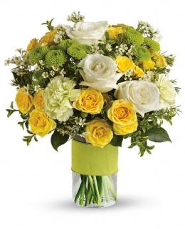 Photo of Your Sweet Smile in Vase - TEV11-1