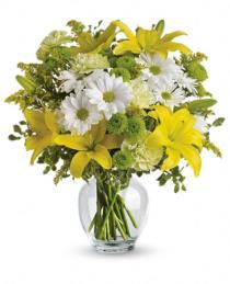 Photo of Teleflora's Brightly Blooming - TEV11-2
