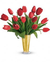 Photo of Tempt Me Tulips Bouquet by Teleflora - TEV23-7