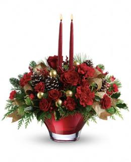 Photo of Holiday Flair Centerpiece Teleflora - T13X200