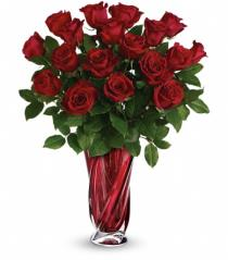 Photo of Teleflora's Red Radiance in Vase - T14V210