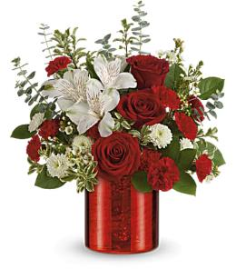 Photo of Teleflora's Send a Hug Bear Your Heart Bouquet - T14V400