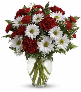 Photo of Kindest Heart Bouquet in Vase - TEV38-3