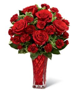 Photo of Sweethearts Rose Bouquet FTD  - 14-V2