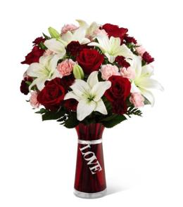 Photo of BF7130/TLVd (Approx 12 to 14 Stems VASE INCLUDED)