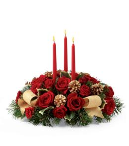 Photo of The FTD Celebration of the Season Centerpiece - B10-4368