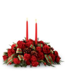 Photo of The FTD Holiday Classics Centerpiece by Better Homes and Gardens - B15-4924