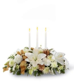 Photo of The FTD Season's Glow Centerpiece - B16-4830