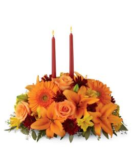 Photo of Bright Autumn Centerpiece FTD - B4-4112