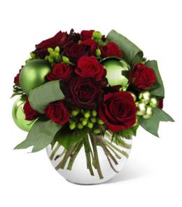 Photo of The FTD Holiday Bliss Bouquet - B9-4365
