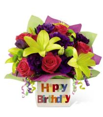 Photo of The FTD Happy Birthday Bouquet - BDB