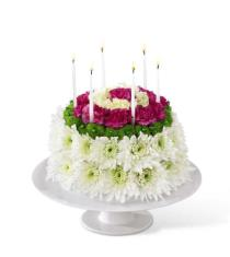 Photo of The FTD Wonderful Wishes Floral Cake - D2-4896