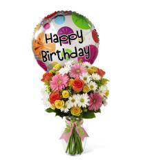 Photo of The FTD Birthday Cheer Bouquet - D4-4902