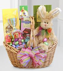 Photo of Easter Sweets and Treats Bunny Basket - G301