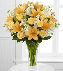 Photo of Admiration Luxury Rose & Lily Bouquet - LX113
