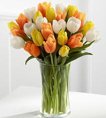Photo of The Heat is On Summer Tulip Bouquet  - FC03