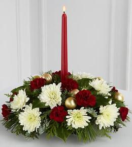 Photo of FTD Light and Love Holiday Centerpiece - FG48