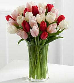 Photo of Here in My Heart Tulip Bouquet FTD - FG57